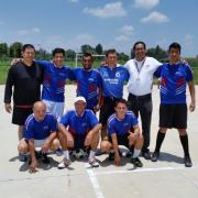 El equipo diablos del Toluca Subcampeón del torneo